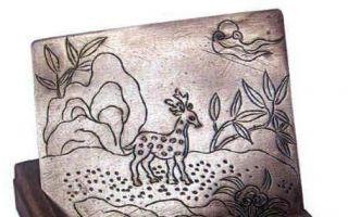 近代银质文房用品的纹饰寓意