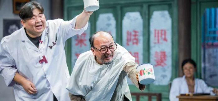 北京电影学院师生同台演出话剧《向阳理发馆》
