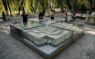 圆明园展出37件回归石质文物