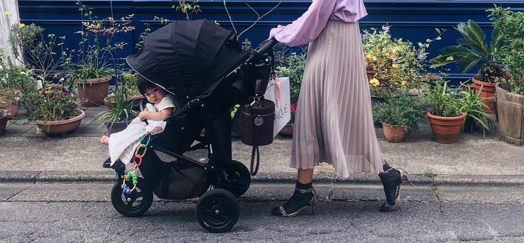 顾小孩也要顾时尚 日本妈妈的型格示范