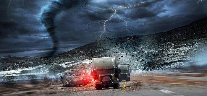 《飓风奇劫》:灾难片混搭抢劫片