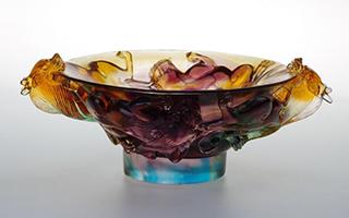 南京大报恩寺遗址公园展出200多件琉璃文物
