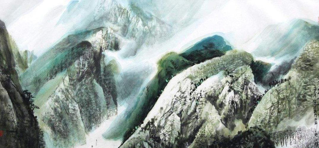 跨领域研究山水书法新视角