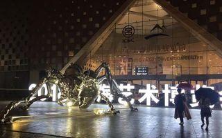22年历史的上海艺博会秋雨中开幕
