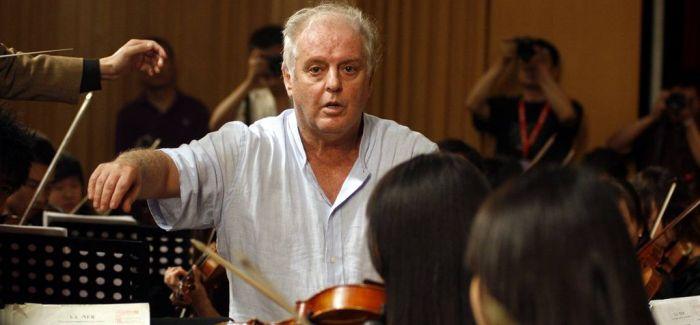 巴伦博伊姆在国家大剧院执棒交响音乐会