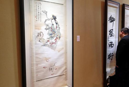 张大千《天女散花图》领衔华艺国际2018秋拍-奇石收藏