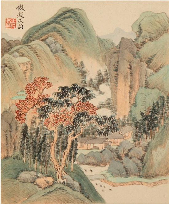 北京画院美术馆展出明清山水画-艺术收藏
