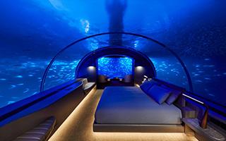 首间水下酒店亮相印度洋