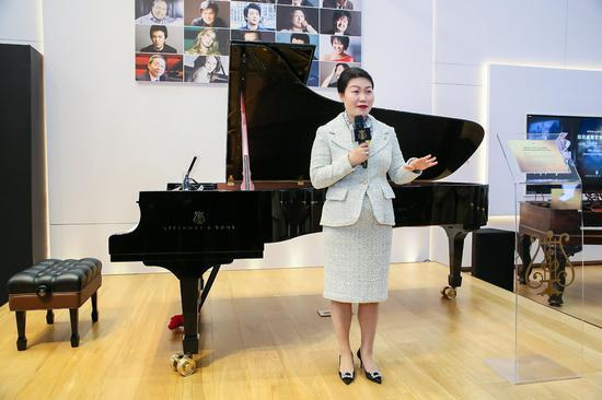 施坦威165周年庆典 全球首届九款珍藏钢琴-文物展柜