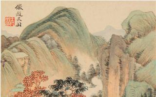北京画院美术馆展出明清山水画
