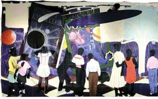 市长撤销拍卖凯利·詹姆斯·马歇尔壁画计划