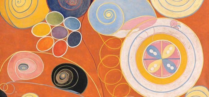神秘的跨界艺术:抽象派与灵媒创作