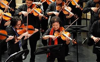 """上海音乐学院举办第六届""""我为中提狂"""""""