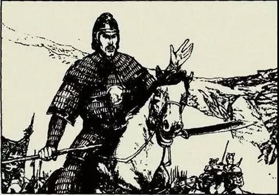 左良玉(1599-1645)(图片源自网络)