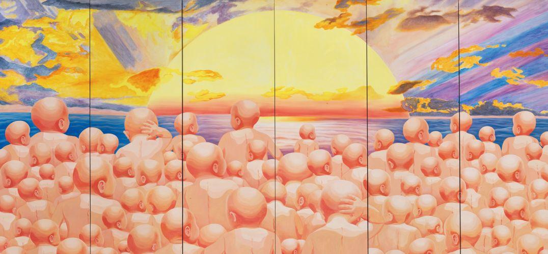 中国当代艺术40年的生长:既如野草 又如狂蟒