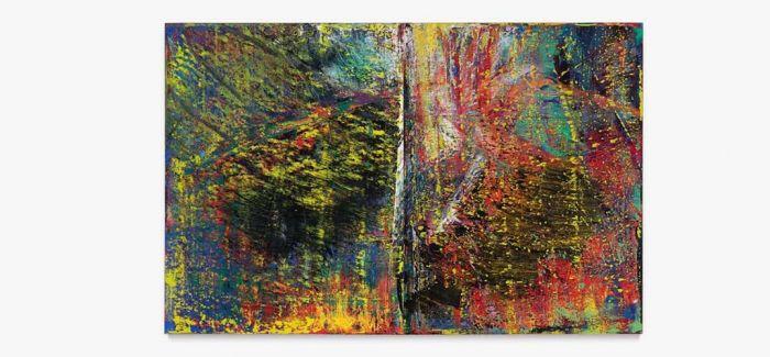 苏富比当代艺术晚拍 里希特《抽象画》领拍