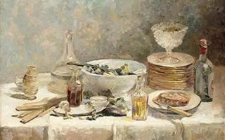 朴实的纳比派画家爱德华・维亚尔