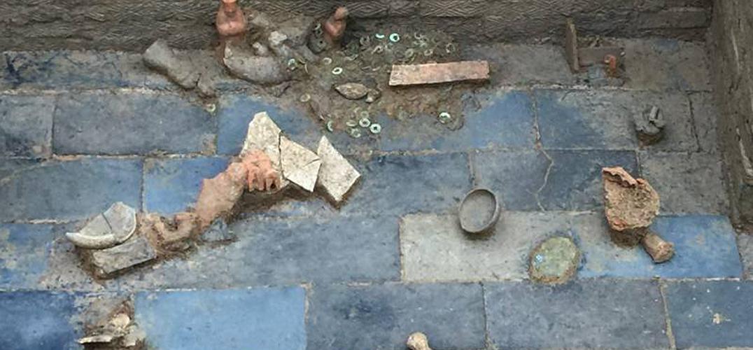 成都发现4座东汉早中期的券顶砖室墓