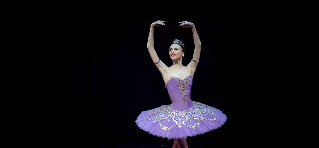 扎哈洛娃全新晚会 展现三种芭蕾风格
