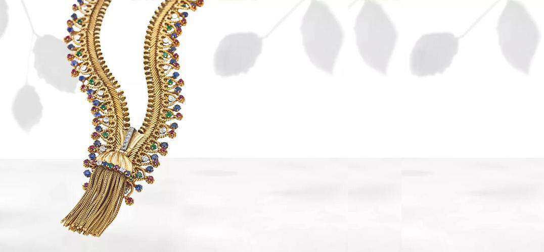 伦敦珠宝上拍佳士得纽约及伦敦奢华珍品卖场