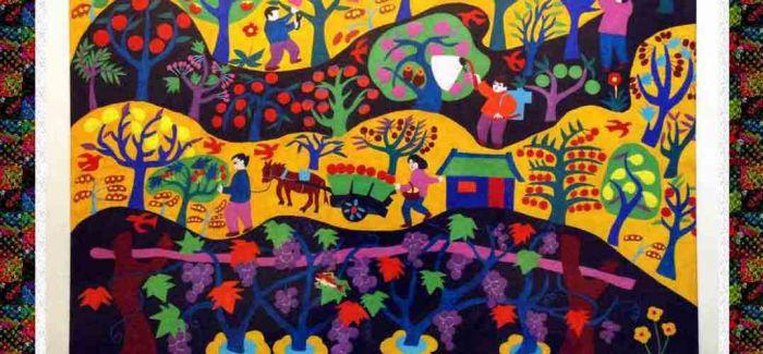 农民画中的艺术生活