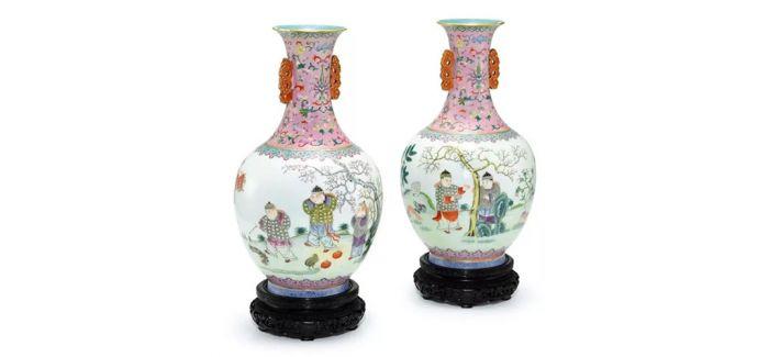 明宣德豆青釉划花卉纹盆登陆苏富比中国艺术品拍场