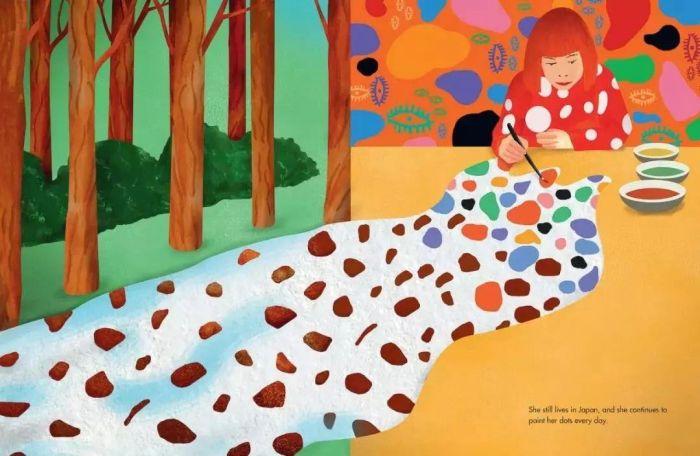插图作者 | Ellen Weinstein,草间弥生|这世界很糟,但我依然热爱,这世界,草间弥生,圆点,波点,南瓜,日本,工作室,天才,纪录片,父亲