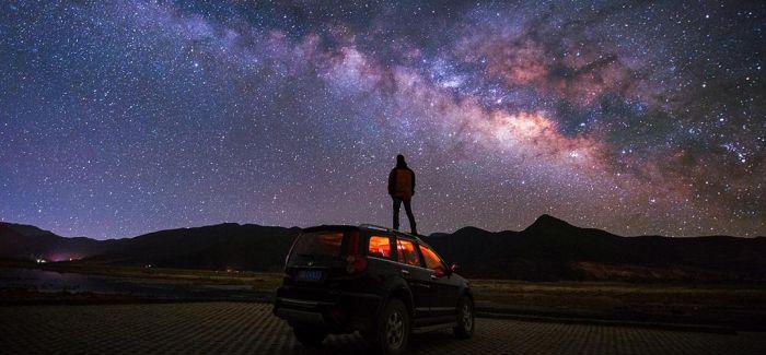 《茶卡盐湖银河》荣获首届中国星空摄影大赛金奖