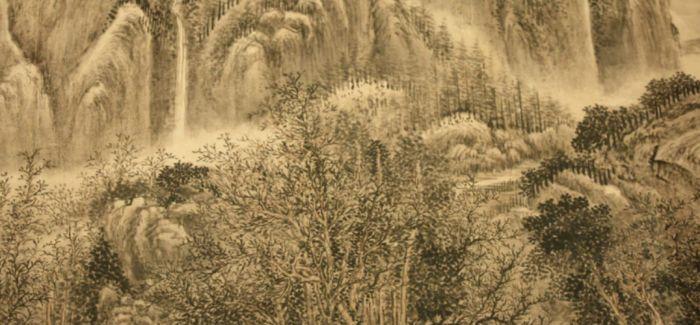 浅析吴湖帆题跋的清代董邦达《慈山图》
