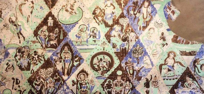 古龟兹壁画摹制特展亮相韩国首尔