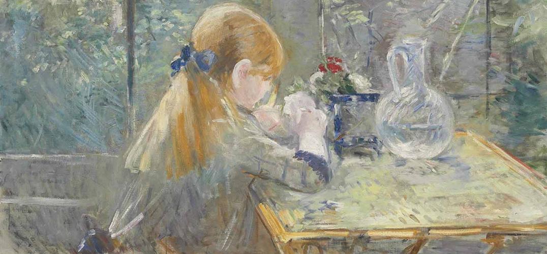 充满浪漫主义色彩的印象派画家莫里索