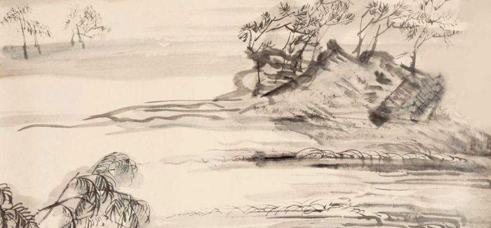 中国水墨画和书法走进埃及
