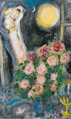 马克·夏加尔:他的画板只有爱的色彩