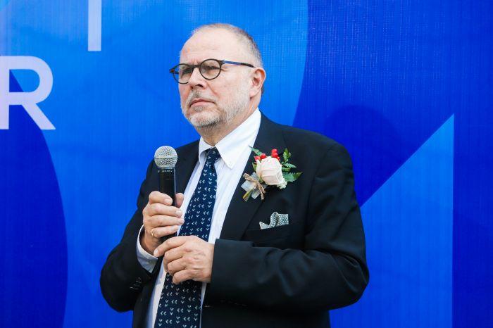 丹麦设计博物馆公谊会主席 、广州设计周首席顾问约翰·亚当·林伯致辞