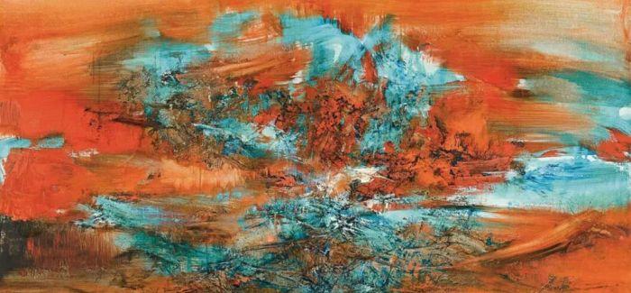 苏富比现当代艺术及东南亚艺术拍卖成绩斐然