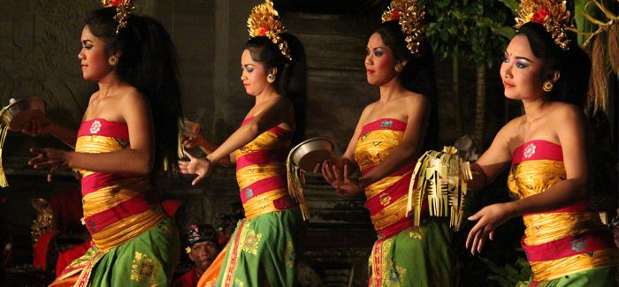 用音乐和舞蹈记录巴厘岛