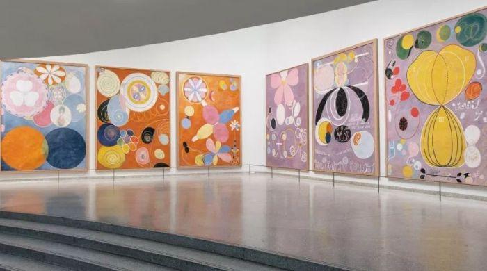 希尔马·阿夫克林特抽象艺术亮相古根海姆