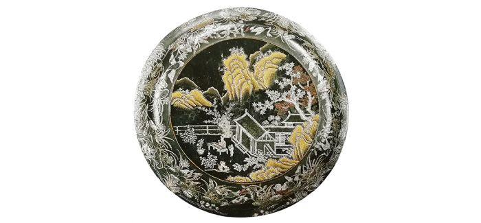 日本馆藏中国元明时期嵌螺钿漆盒赏析