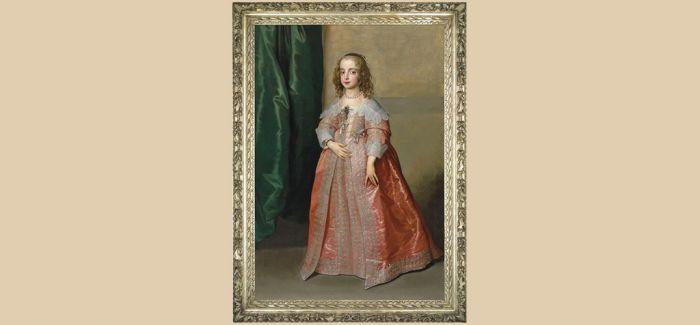 """安东尼·凡·戴克的""""玛丽公主肖像"""""""