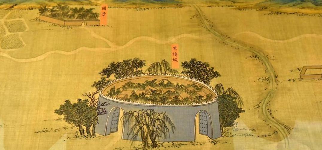 """明朝宫廷画""""丝路山水地图""""香港展出"""