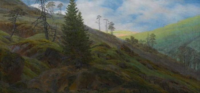 贾斯帕·大卫·费得利奇笔下的十九世纪欧洲山河