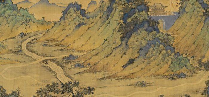 香港展出《丝路山水地图》