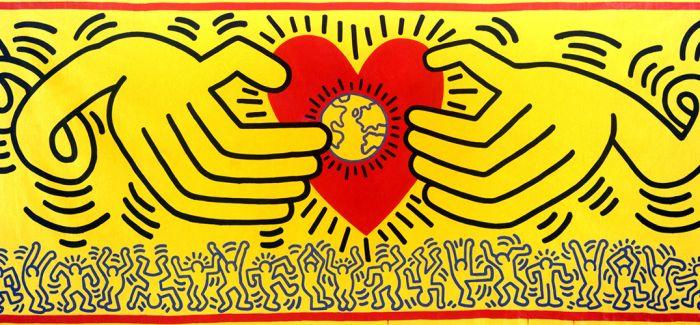 涂鸦艺术家凯斯·哈林60周年 开启波普之旅