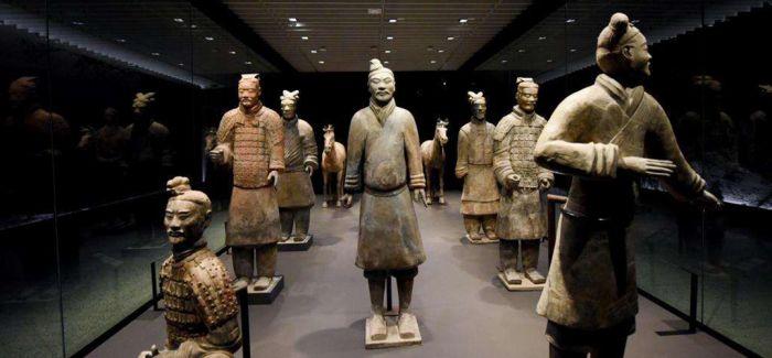秦始皇兵马俑在新西兰国家博物馆展出