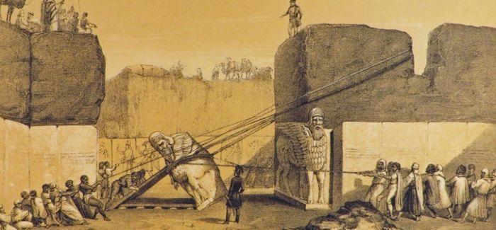 """大英博物馆亚述帝国展讲述英国的""""中东行"""""""