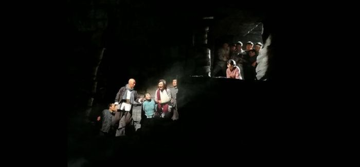 民族歌剧《沂蒙山》济南首演 再现军民情深