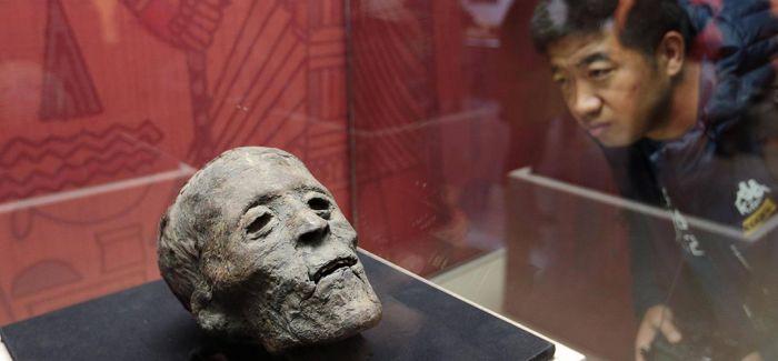 """""""古埃及人的生命观""""展览在秦始皇帝陵博物院开幕"""