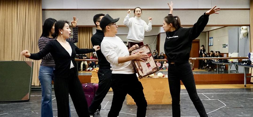 英国儿童剧《跷跷板树》在中国儿童剧场首演