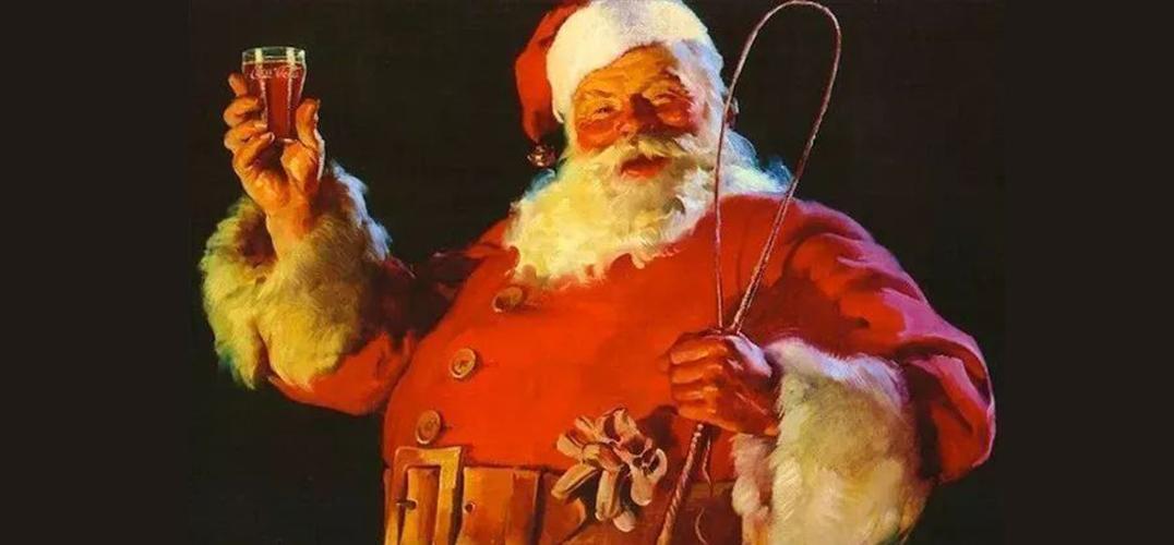 """圣诞老人""""进化史"""""""