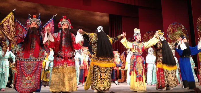 """上海京剧院沿""""一带一路""""走进北非"""